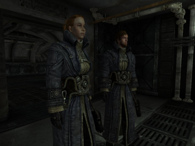 Female and Male Meshes