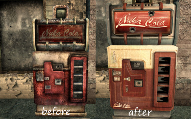 nuka cola vending machine retexture at fallout3 nexus mods and