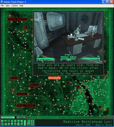 Fallout 3 Flash Map at Fallout3 Nexus - mods and community on