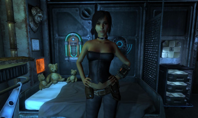 Alley-Female character