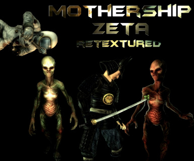 Mothership Zeta DLC Retextured