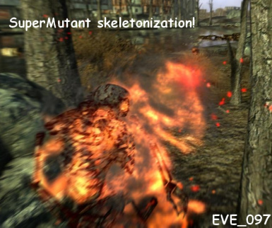 Supermutant skeleton