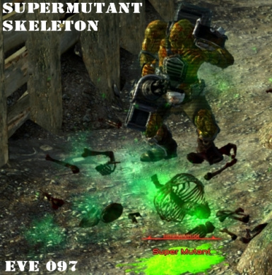 Supermutant skeletonization