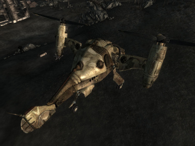 HIND camo from above