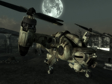 HIND camo by night