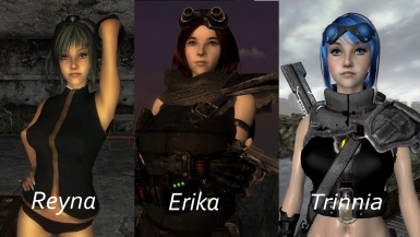 Erika and Reyna and Trinnia - Female Savegames
