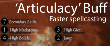 Cast Faster -- Articulacy Augment Buff