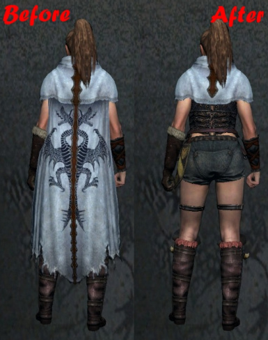 Shorter Wyrm Hunt Mantle