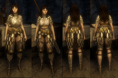Gryphic Armor and greaves retex