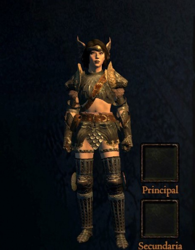 Skirt-less Chimeric Armor (Fix)