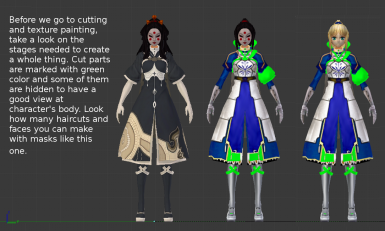 Character Modeling And Modding Tutorial for Blade and Soul at Blade