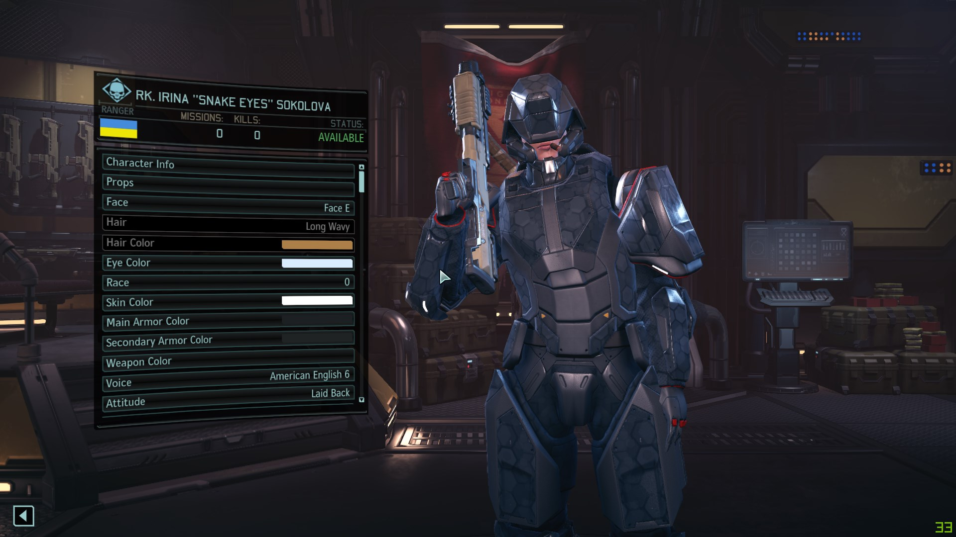 advent armour at xcom2 nexus mods and community. Black Bedroom Furniture Sets. Home Design Ideas
