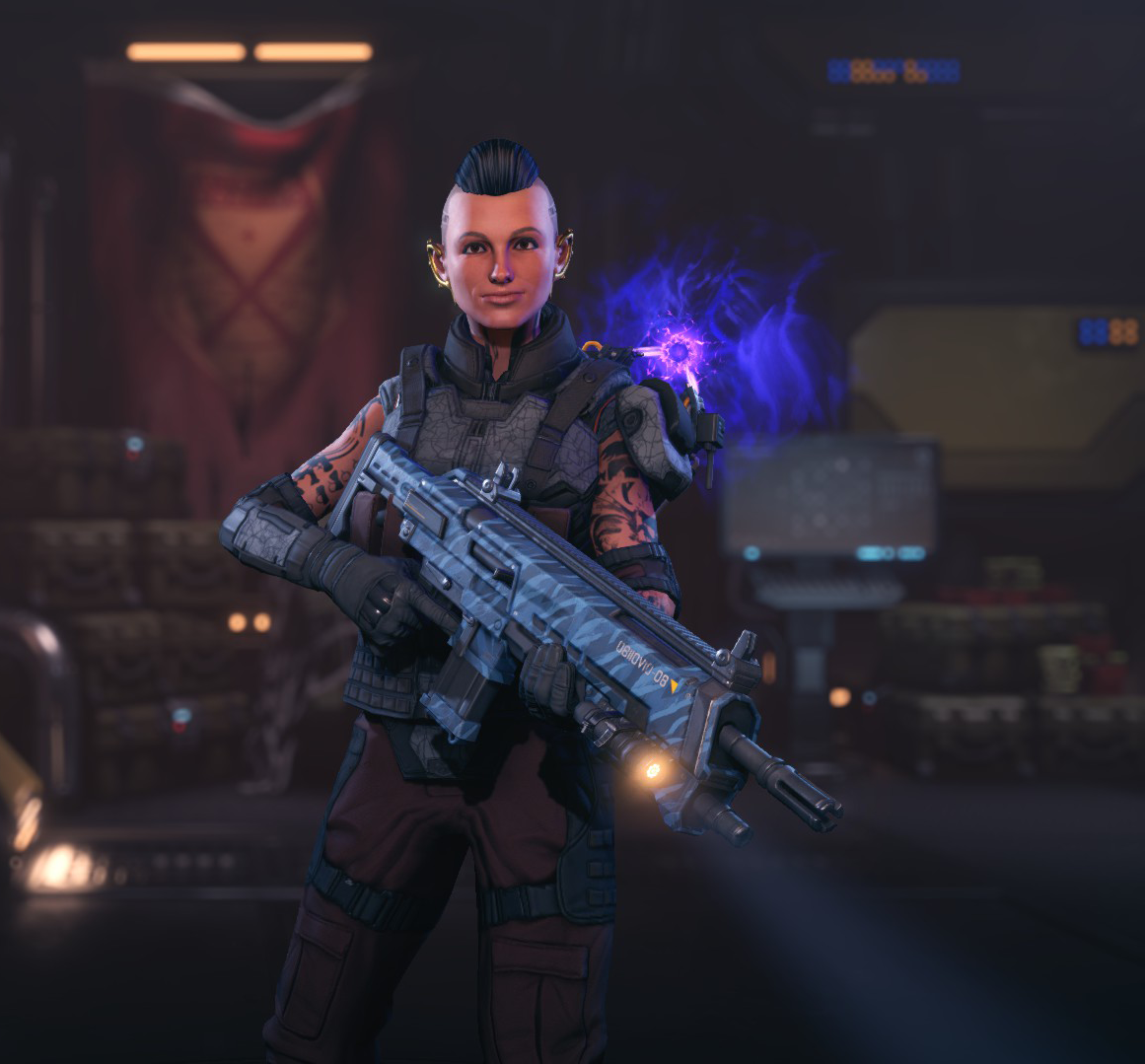 Mass Effect's Jack Appearance Pack для XCOM 2 - Скриншот 2