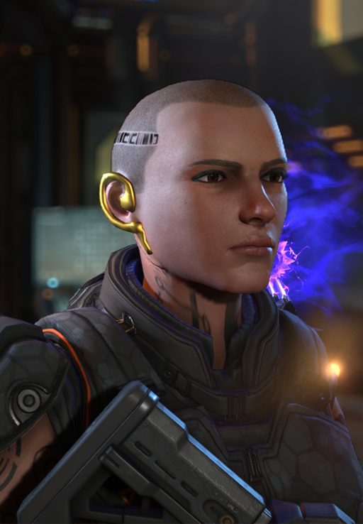 Mass Effect's Jack Appearance Pack для XCOM 2 - Скриншот 1
