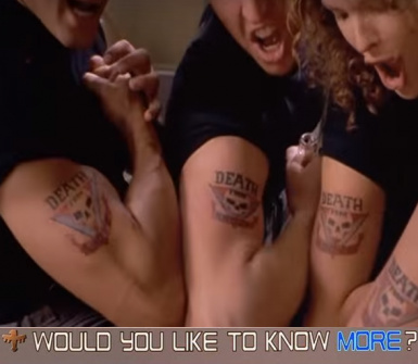 Starship Troopers - Tattoo