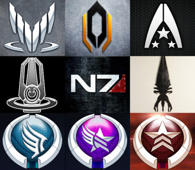 Mass Effect - 9 Tattoos