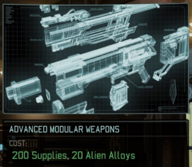 Advanced Modular Weapons
