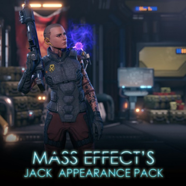 Mass Effect's Jack Appearance Pack