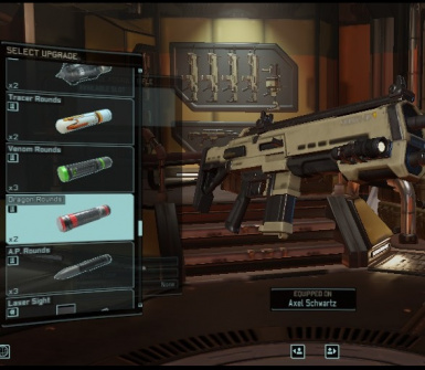 Ammo as Weapon Mods