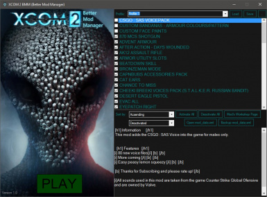XCOM 2 BMM (Better Mod Manager)