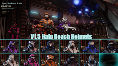 Halo Reach Helmets
