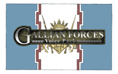 Gallian Forces Voice Pack (japanese)