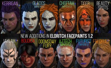 Eldritch Facepaints v 1.2