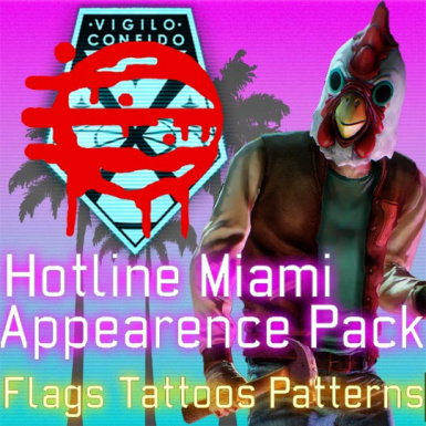Hotline Miami Appearence Pack