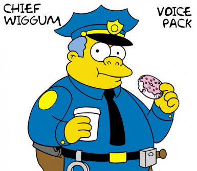 Chief Wiggum Voice Pack