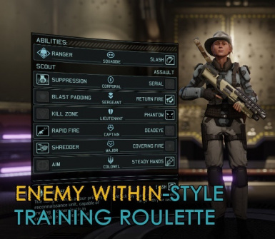 Enemy Within Style Training Roulette