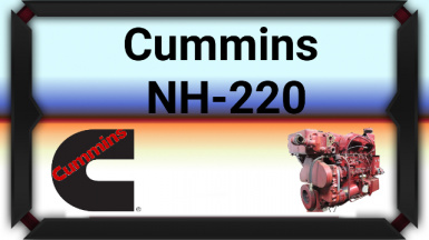 Cummins NH-220 Engine