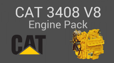 Caterpillar 3408 V8 Engines