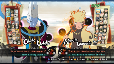 Whis Model Over Obito