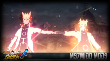 Minato Namikaze Awakens Sage Mode Rinnegan And sage of six path Mod