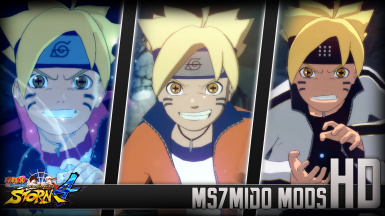 Boruto Awakens Sage Mode And sage of six path Mod