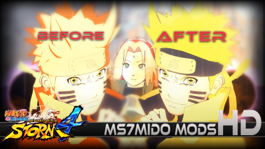 Ultimate Naruto Six Paths Texture Mod by Ms7mido