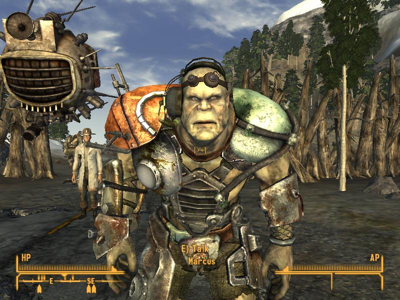 Super Mutants Retextured At Fallout New Vegas Mods And Community