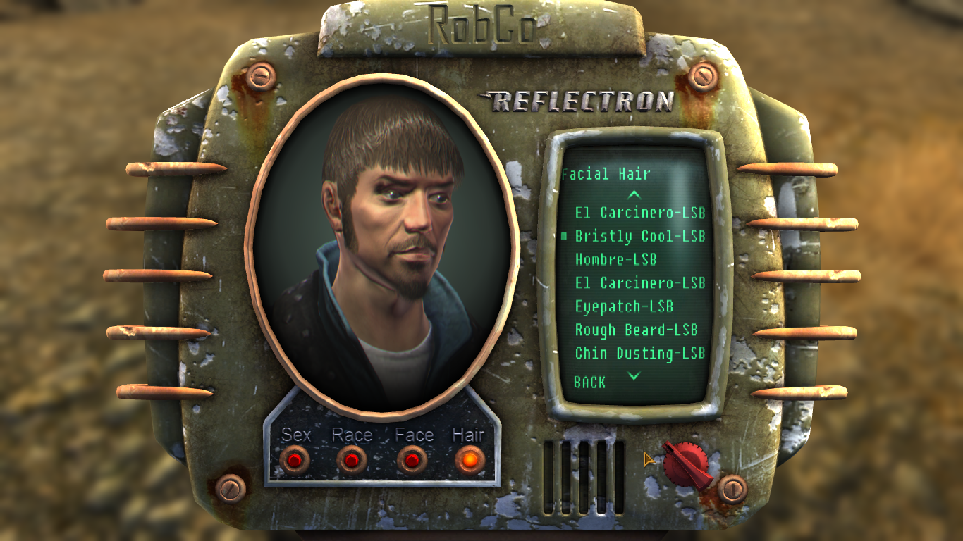 sideburns pack - now with optional beards at fallout new vegas