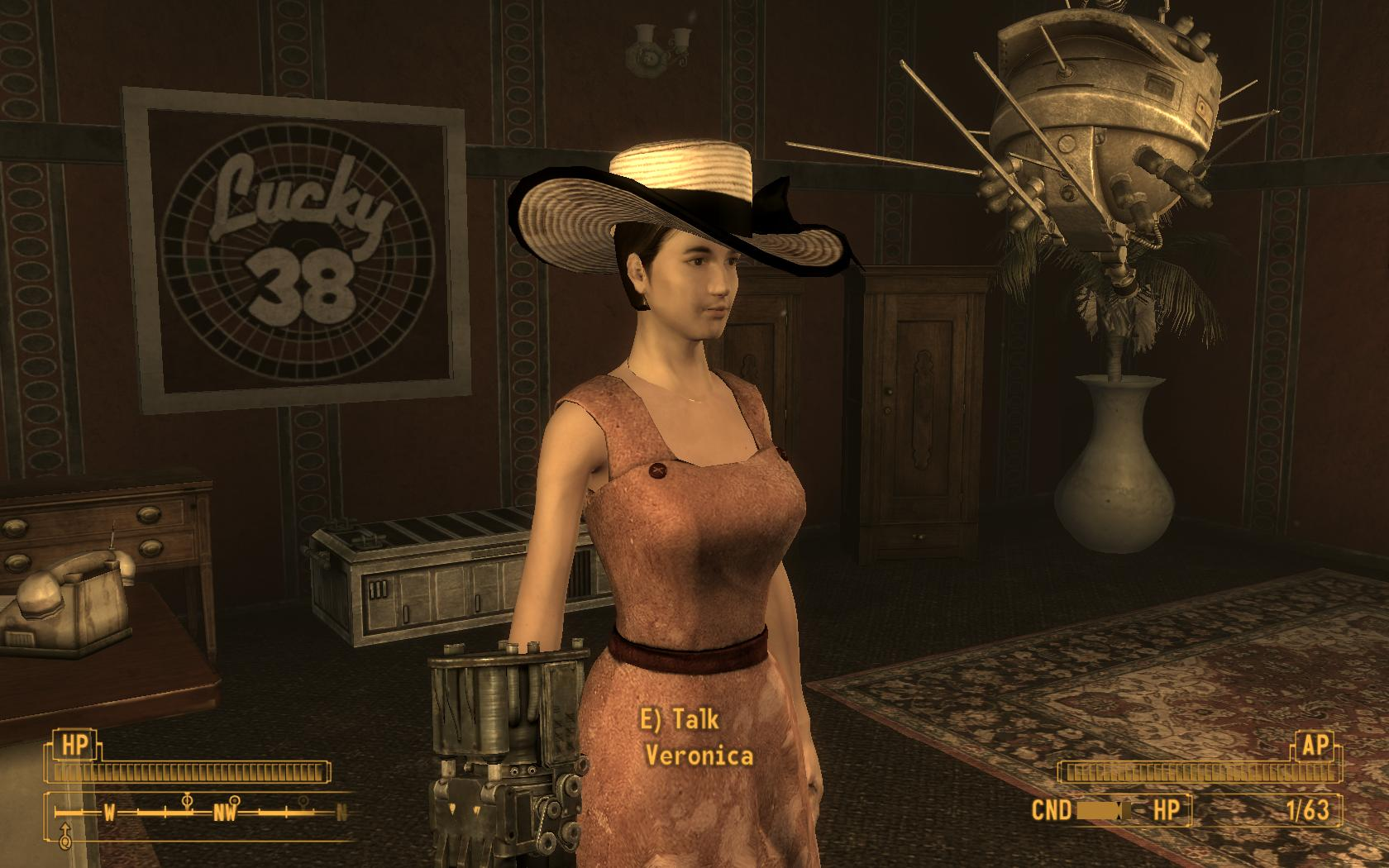 Veronica hood n robes playable at fallout new vegas mods and