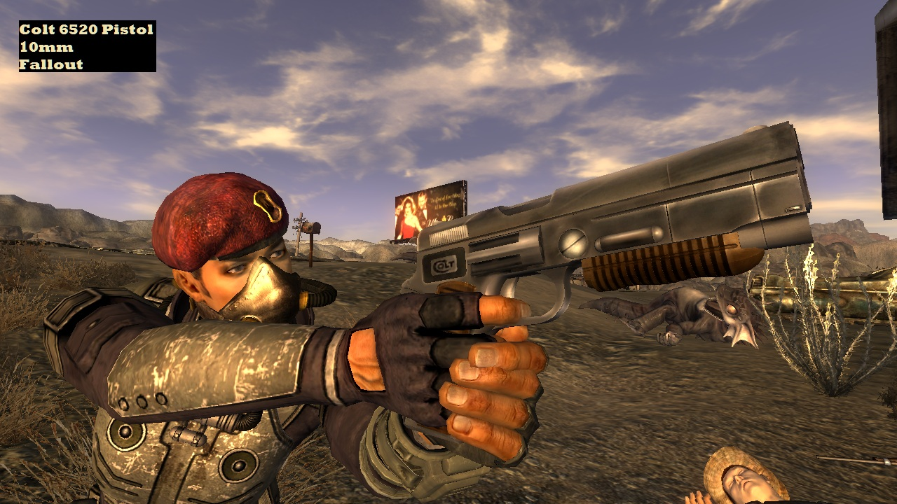 Classic Fallout Weapons - New Vegas at Fallout New Vegas - mods and ...