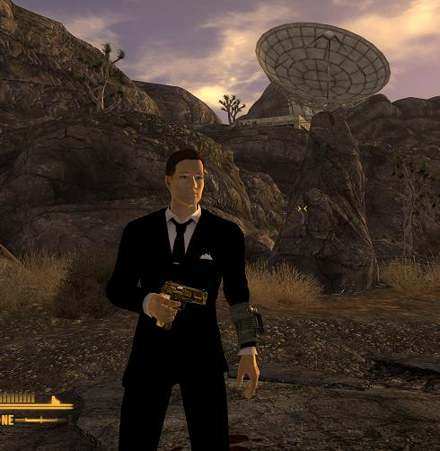 Bennys Black Suit at Fallout New Vegas - mods and community