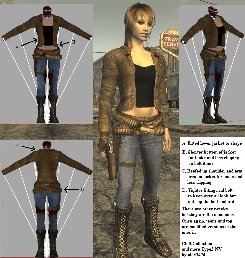 Vegas Girl Outfit Type 3 at Fallout New Vegas - mods and community