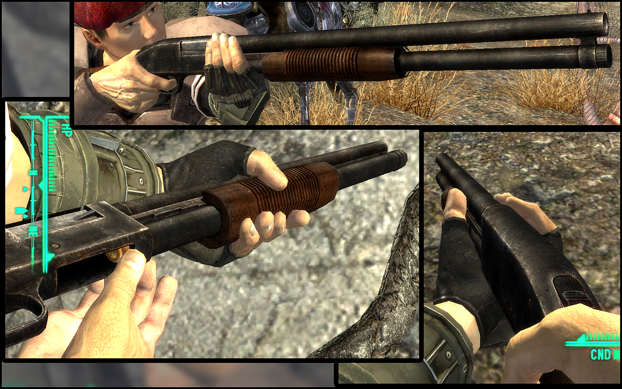 A3DWeps - Mossberg 500 at Fallout New Vegas - mods and community