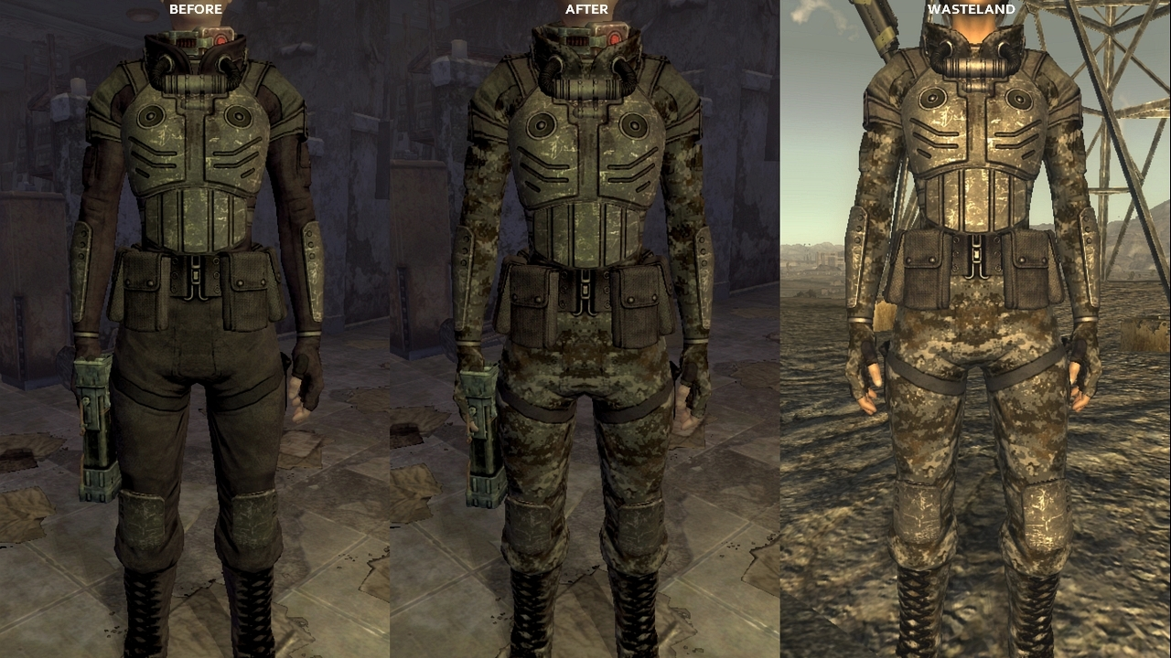 Camo Assasin Suit At Fallout New Vegas Mods And Community