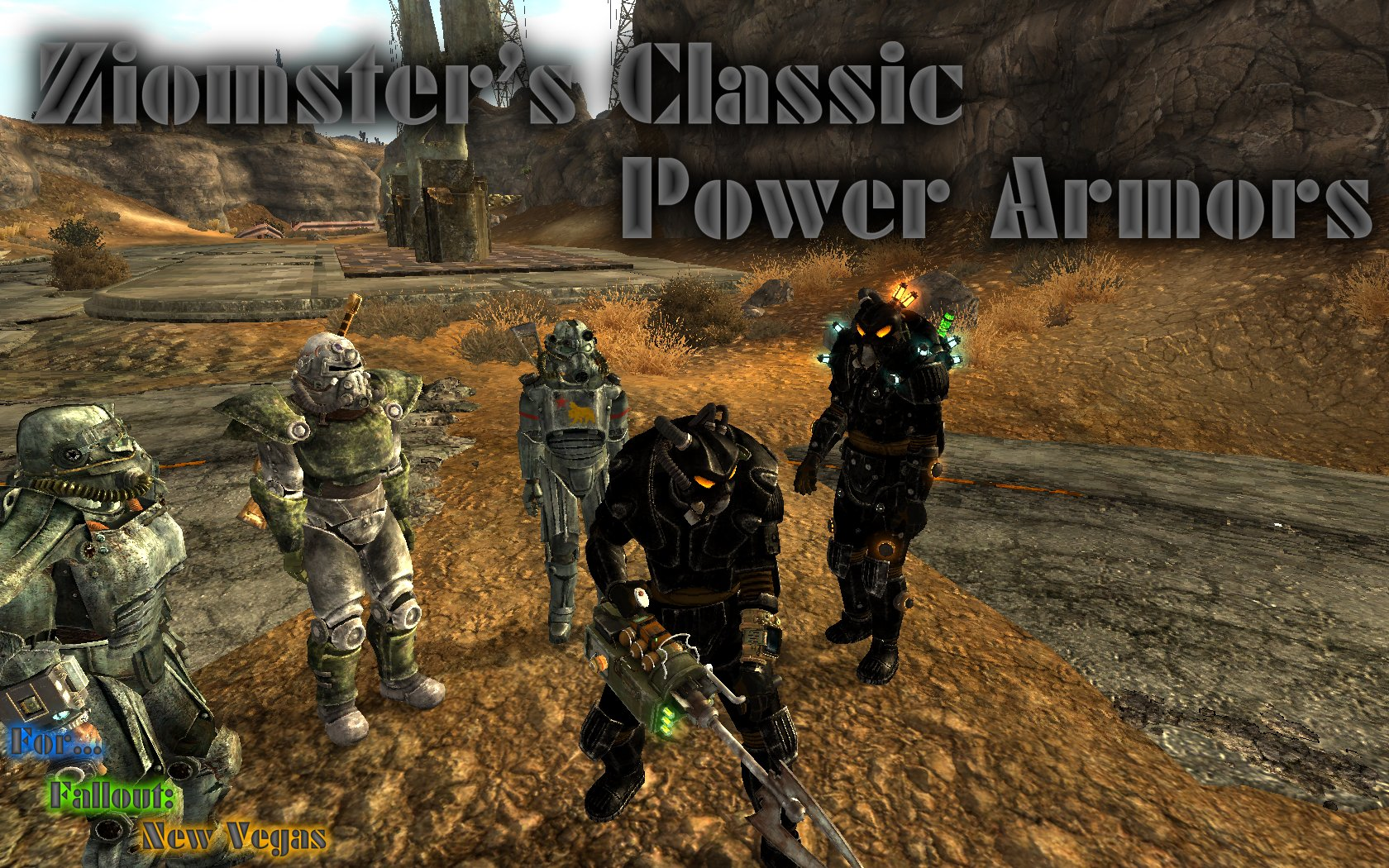 Ziomsters Classic Power Armors at Fallout New Vegas - mods and community