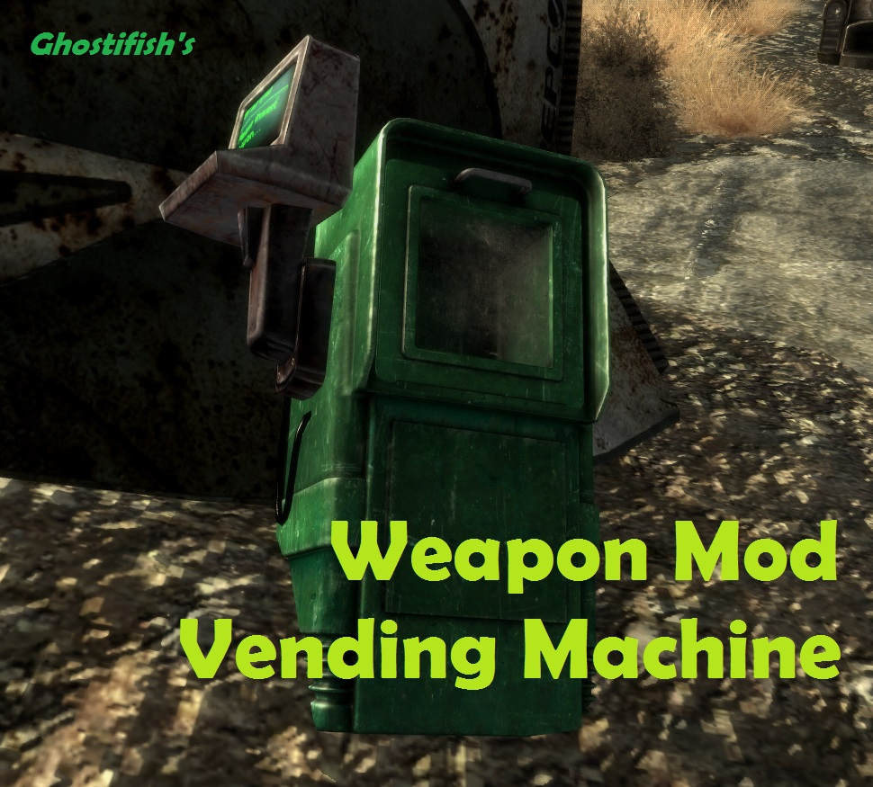 WMVM Weapon Mod Vending Machine At Fallout New Vegas Mods And - Monkey knows how to operate vending machine