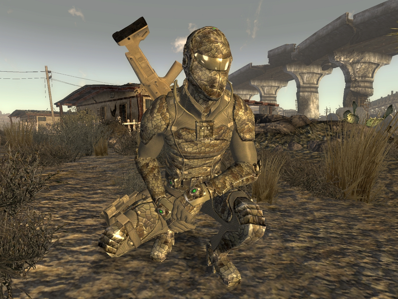 Solid Snake Fallout  Build