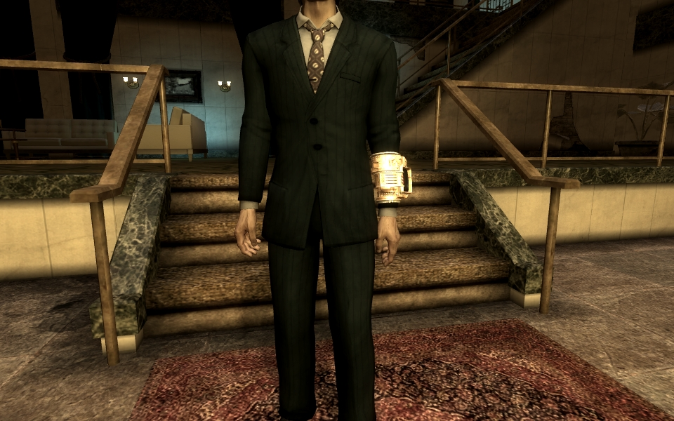 Custom Tailored Suit at Fallout New Vegas - mods and community