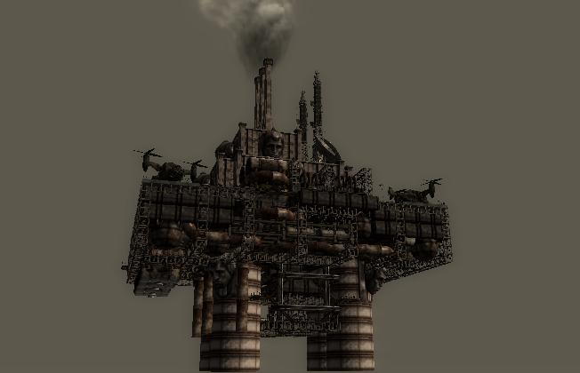 how to get to the enclave oil rig