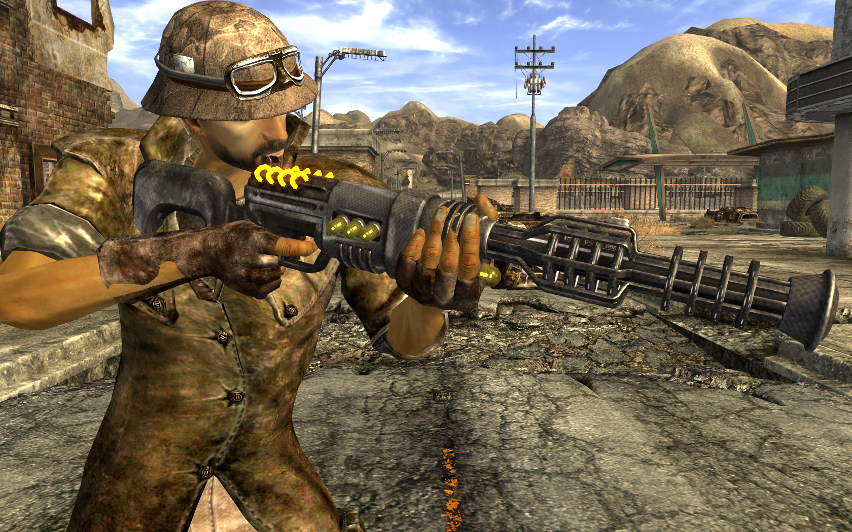 carbon fiber recharger rifle at fallout new vegas mods and community. Black Bedroom Furniture Sets. Home Design Ideas